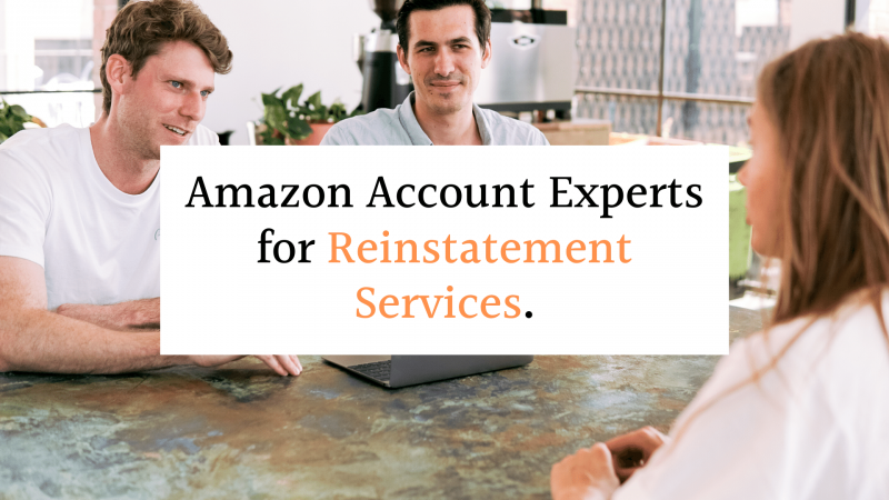 Amazon Account Experts for Reinstatement Services
