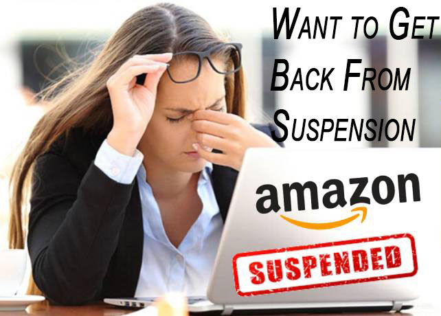 How to get back from Amazon seller account suspension?