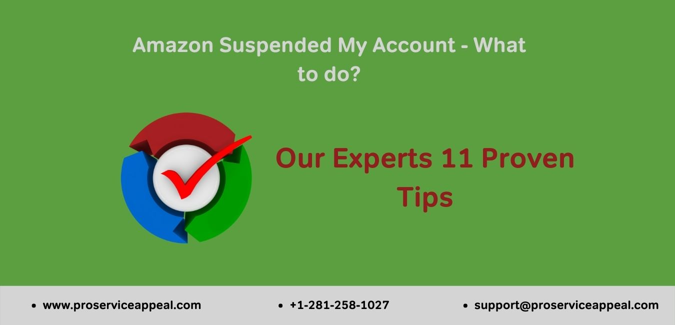 Amazon Suspended My Account | What to do | 11 Proven Tips