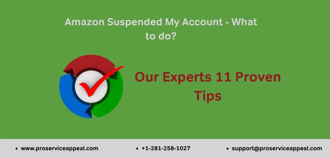 Amazon Suspended My Account