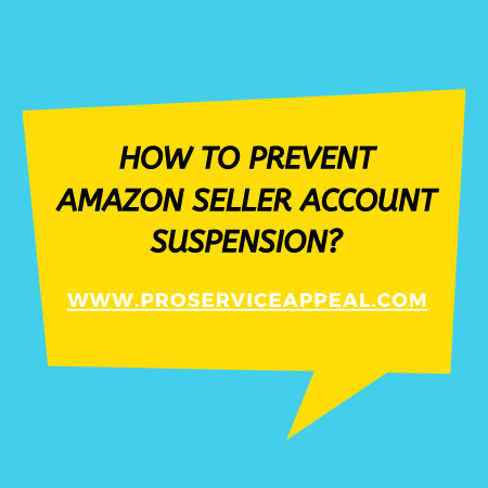 How to prevent Amazon seller account suspension